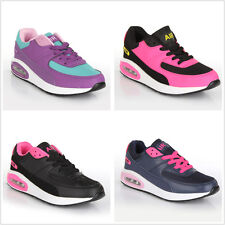 Ladies Running Trainers Womens Shock Absorbing Fitness Gym Sports Shoes Size
