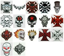Skull/ Skulls Sew On Patch Brand New. Choice of 18 Designs