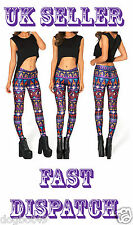 SALE NOW ON !!!!!! !!Womens digital Printed Aladdin Footless Tights Size 14- 16