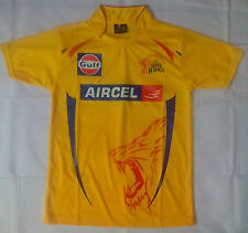 "IPL Chennai Super Kings T Shirt  - Jersey ""Check Size Before buying"""