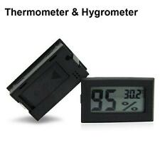 DIGITAL GROW TENT/ROOM HUMIDITY METER THERMOMETER HYDROPONICS  HYGROMETER BL