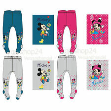 2 x niño bebé Pantimedias Calcetines Disney Mickey Mouse o Minnie Mouse NUEVO