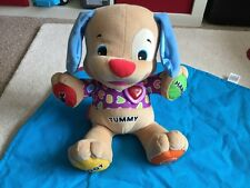 singing and interactive fisher price puppy