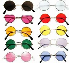 JOHN LENNON  STYLE SUNGLASSES SHADES 60S 70S HIPPY FANCY DRESS 10 VARIETIES