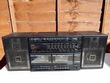 Aiwa Stereo CA-W75K BOOMBOX with detachable speakers