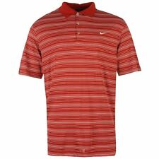 MENS OFFICIAL NIKE STRIPED GOLF POLO SHIRT TOP SIZES M-2XL COMFORTABLE DRI-FIT
