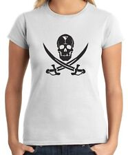 T-shirt Donna BEER0257 Martini Jolly Roger