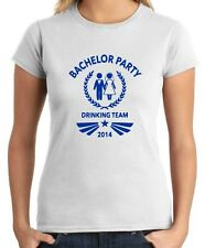 T-shirt Donna MAT0004 Bachelor Party 2014 Team Maglietta