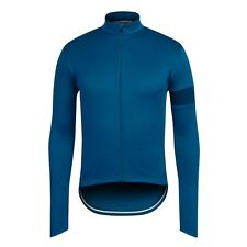 Rapha Long Sleeved Cycling Jersey Blue Size Medium BNWT