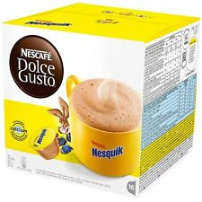 NESQUIK Nescafe Dolce Gusto Pods Capsules coffee pods 20,40,60,80,100 chocolate