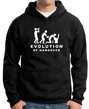 Felpa Hoodie BEER0217 Evolution-Of-Hangover-Magliette