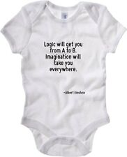 Body neonato CIT0152 Logic will get you from A to B. Imagination will take you e