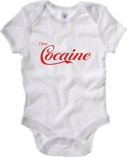 Body neonato ENJOY0039 Enjoy Cocaine white