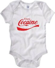 Body neonato ENJOY0040 ENJOY0300 Enjoy Cocaine!