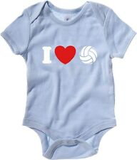 Body neonato TLOVE0088 i love volleyball tshirt