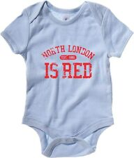 Body neonato WC0188 ARSENAL T-SHIRT - NORTH LONDON IS RED
