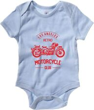 Body neonato TB0398 retro motorcycle club monochrome old bike