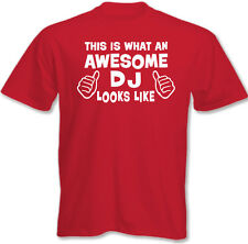 This Is What An Awesome DJ Looks Like - Mens lustige T-Shirt