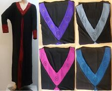 Abaya Kaftan Dress Jilbab Islamic Wear Maxi Diamante Dress One Size Fit to S/M/L