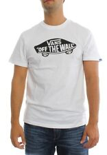 Vans T-Shirt Men VANS OTW VJAYYB2 White Black