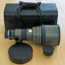 Tamron SP 300mm f/2.8 60B LD IF With SP 1.4x TC and Case With Nikon AI Adaptall2