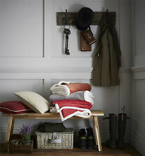 Catherine Lansfield Plain Sherpa Throw, Cosy Reversible Super Soft