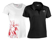 (R27) CRIVIT femmes fonctionnel chemise tee-shirt haut polo col polo fitness