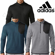 ADIDAS GOLF 2017 MENS CLUB PERFORMANCE JUMPER HALF ZIP SWEATER PULLOVER