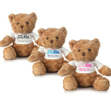 Personalised Birthday Teddy Bear - 30th, 40th, 50th or 60th Gifts and Presents