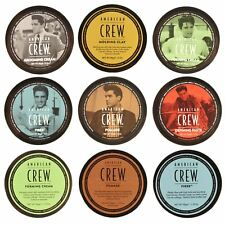 American Crew Men's Hair Styling Products All Types & Sizes Pomade Fiber Wax