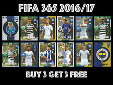 2016/17 PANINI ADRENALYN FIFA 365  #235- 279 TEAM MATES