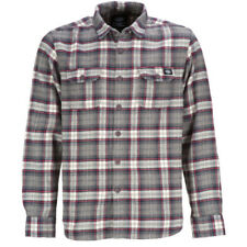 Dickies Holton Mens Shirt Long Sleeve - Grey All Sizes