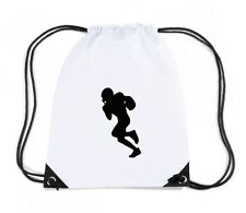 Zaino Zainetto Budget Gymsac  WC1018 American Football Player 4