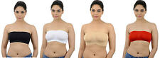 Ishita Fashions Tube Bra Seamless Strapless Bandeau Top Tube - Colors and Combos