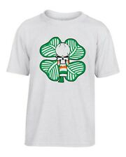 T-shirt Bambino TUM0014 ultras celtic green brigate