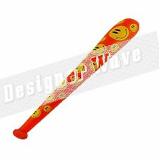 Harley Quinn Inflatable Baseball Bat Red Yellow Smiley Face Suicide Squad