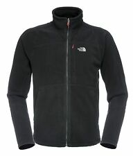 The North Face Fleece 200 Shadow Full Zip Jacket Men, TNF Black