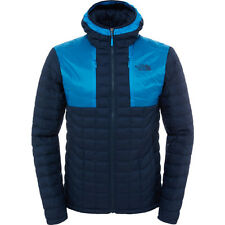 North Face Thermoball Plus Hoodie Mens Jacket Synthetic Fill - Urban Navy Blue