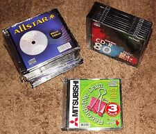 Job lot Bundle of 29 CD-R Blank Media Discs - CD-R52x CD-R80x - 700MB 80 Mins
