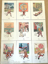 Tintin 75th Anniversary A4 Book Scene Prints - BUY INDIVIDUALLY Herge Poster