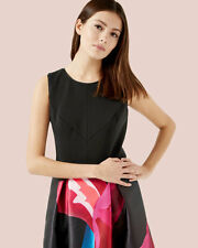 NEW Ted Baker Ted Baker Stencilled stems print dress  RRP £249.00 SZ 1 2 3 4 5