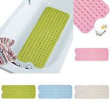 New Bathroom Bathtub Bath Shower PVC Suction Safety Non-Slip Floor Mat Cushion