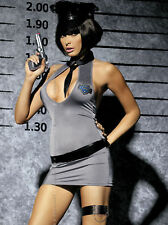 Sexy Police Kostüm Polizei Uniform Cop Gogo Dancewear Fasching S-M L-XL 2XL hot