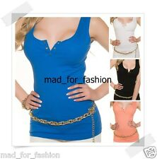 Summer ribbed tank top. 4 COLOURS!!!