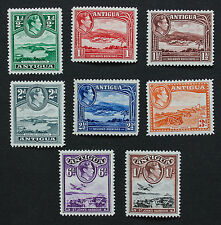 ANTIGUA - SG98-105 King George VI 1938-51 set of of 8 Mounted Mint MM.