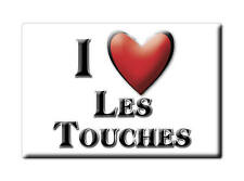 MAGNETS FRANCE - LANGUEDOC ROUSSILLON I LOVE LES TOUCHES  (LOIRE ATLANTIQUE)