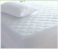 New Quilted Mattress Bed Protector Topper Fitted Cover All Sizes