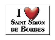 MAGNETS FRANCE - PROVENCE ALPES CÔTE D'AZUR I LOVE SAINT SIMON DE BORDES (CHAREN
