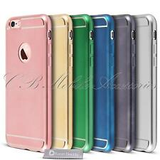 iPhone 6S Case Shockproof Metal Silicone Gel Case Back skin for iPhone 6 Cover