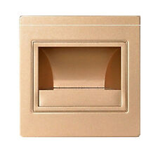 Gold Wall Plinth Recessed Stairs Step Footlight LED Night Light-Cold White